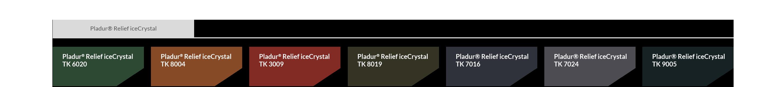 icecrystal powłoka blachy trapezowej