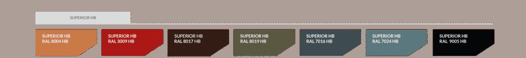 superior hb powłoka blachy trapezowej
