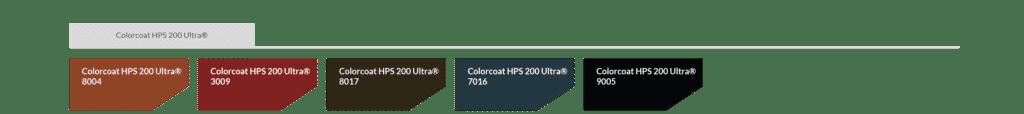 hps200 powłoka blachy trapezowej
